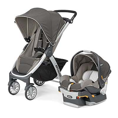Chicco Bravo Trio Travel System Strollers