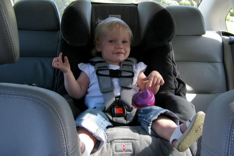 A Child In Car Seat