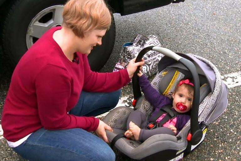 old car seat